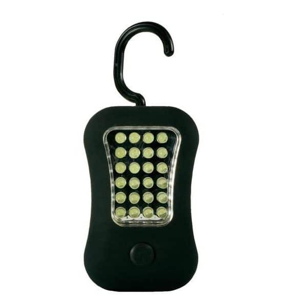 Lampe de poche Arcas 24 LED + 4 LED Light avec aimant et crochet pivotant85131000