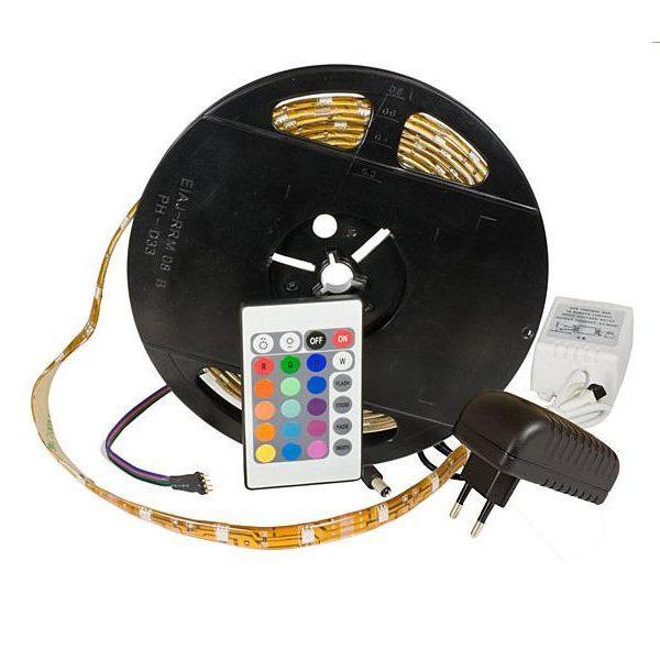 Bande 150 LED multicolore 5m avec télécommande85131000