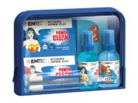 Kit de voyage Travel essentials PowerClean Superman et Wonder Woman  EMTEC63071030