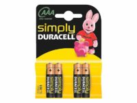 Pack de 4 piles Duracell Simply MN2400/LR03 Micro AAA85061011