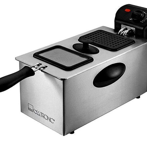 Friteuse en acier inoxydable 3 litres FR 3587 Clatronic inox85098000