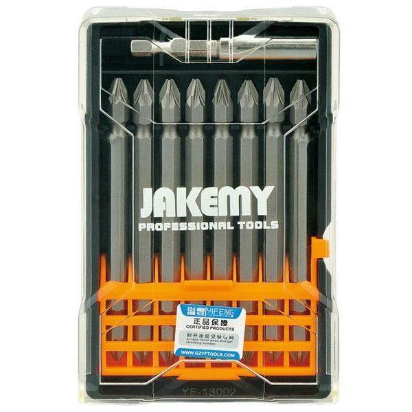 Set d´embouts croix 9en1 Jakemy TOOLS JM-TP035 100mm PZ282054000