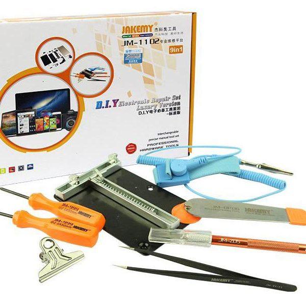 Kit de réparation électronique 9en1 Jakemy PHONE JM-1102 D.I.Y Version Luxe82054000