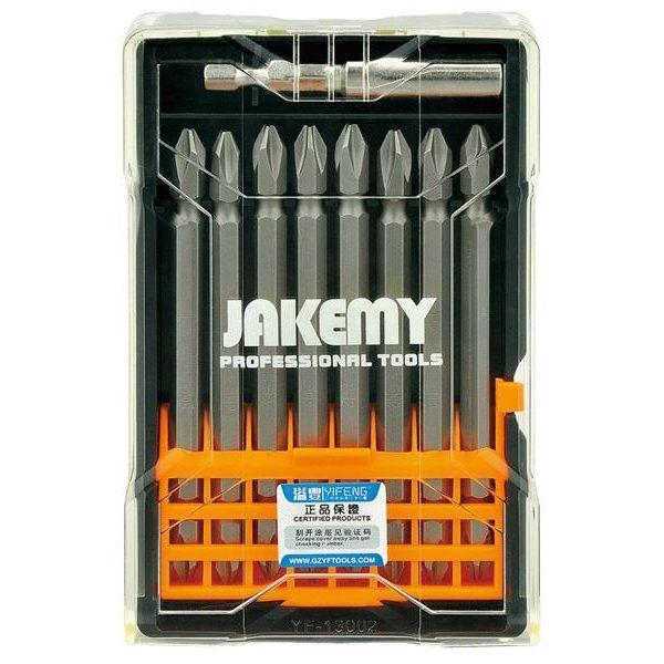 Set d´embouts croix 9en1 Jakemy TOOLS JM-TP025 100 mm PH282054000