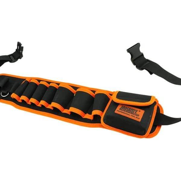 Ceinture porte-outils professionnelle Jakemy TOOLS JM-B04 (noir-orange)82054000