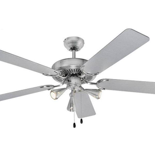 Ventilateur de plafond D-VL 5667 AEG avec éclairage inclus (inox)84145100