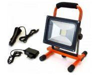 Spot halogène rechargeable 20 watts LED Arcas (Orange)85131000