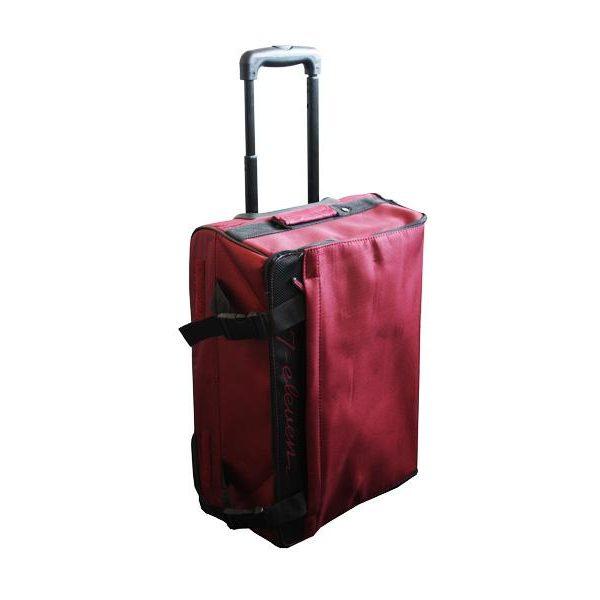Valise à roulette pliable (gain de place) rouge39269097