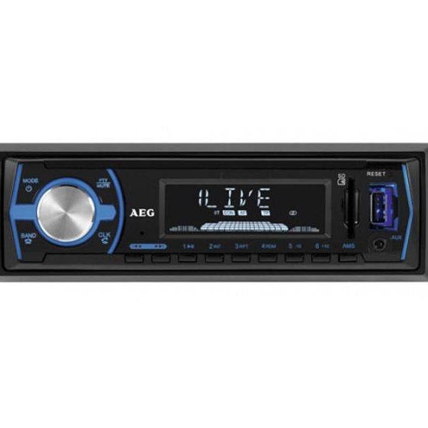 Autoradio AEG AR 4030 avec Bluetooth USB & lecteur de carte (Noir)85272159