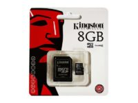 MicroSDHC 8GB Kingston CL4 Blister85235110