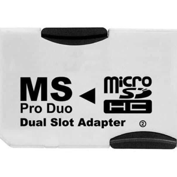 Adaptateur Pro Duo pour MicroSD DUAL (pour 2x MicroSD)85235110