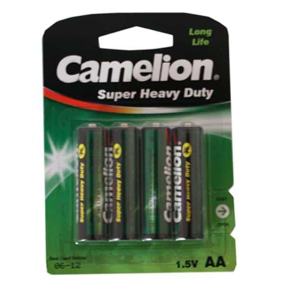 Pack de 4 piles Camelion R06 Mignon AA85068080