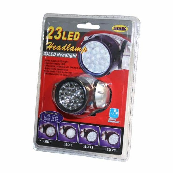 Lampe frontale 23 LED85131000