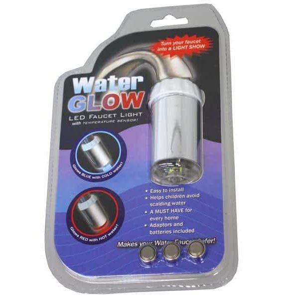 Embout de robinet à LED lumineuse BLEU