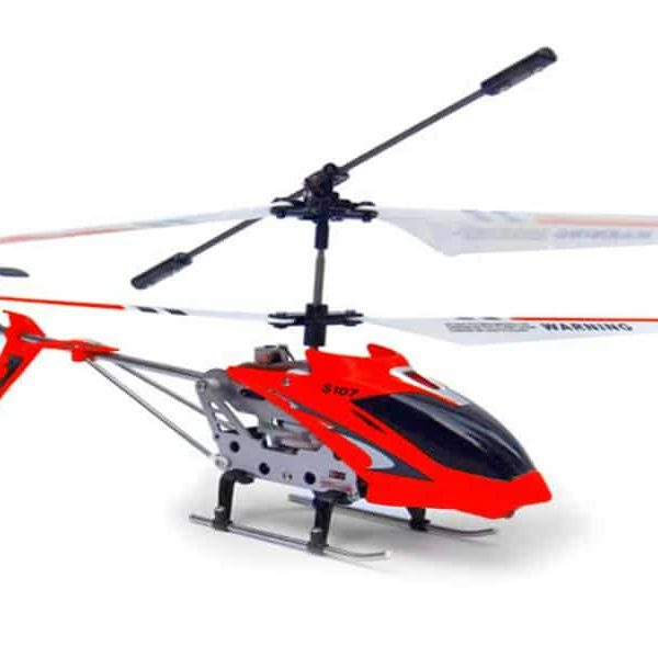 Hélicoptère RC SYMA S107G Gyro infrarouge 3 voies - Rouge95030075