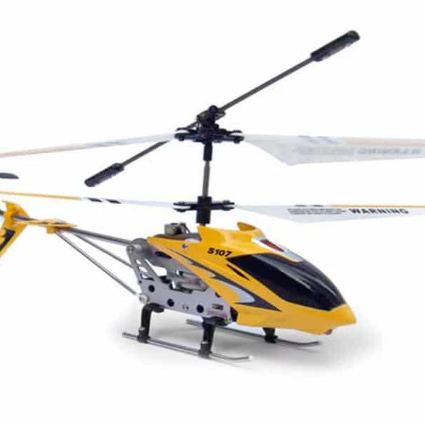 Hélicoptère RC SYMA S107G Gyro infrarouge 3 voies - Jaune95030075