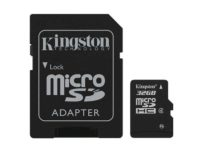 MicroSDHC 32GB Kingston CL4 - Sous Blister | @1pactweb.fr
