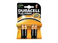 Pack de 4 piles Duracell Plus Power MN2400/LR03 Micro AAA85061011