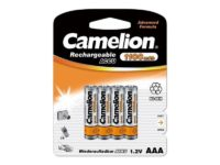 Pack de 4 accus Camelion AAA Micro 1100mAH85075000