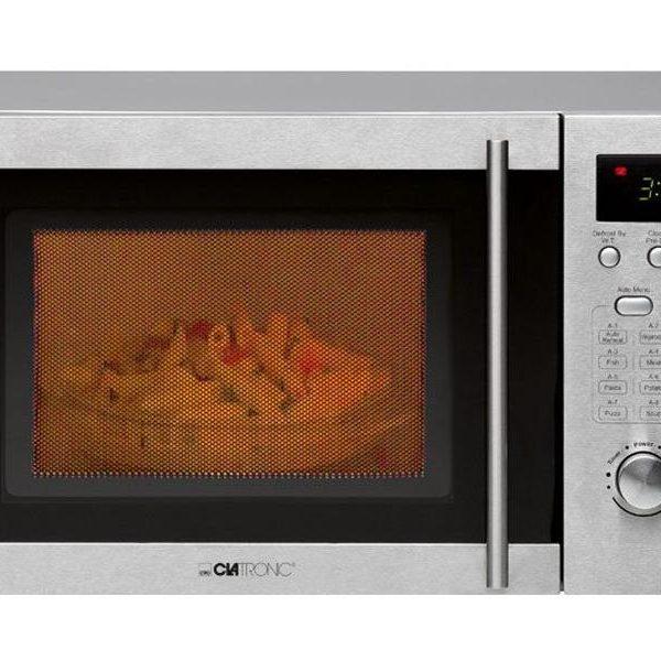 Micro-ondes 20 L avec grill Clatronic MWG 778 U -  inox85165000