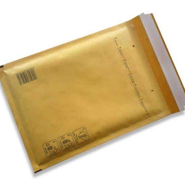 Pack A MARRON - 200 x Enveloppes à bulles 120x175 mm48173000