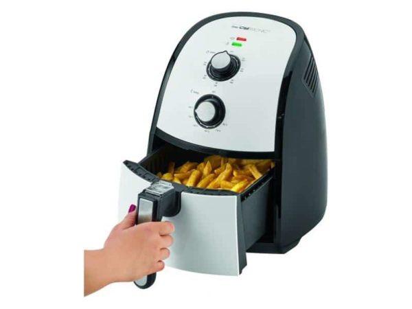 Friteuse à air chaud (sans huile) Clatronic FR 3667 H  Noir-blanc85098000