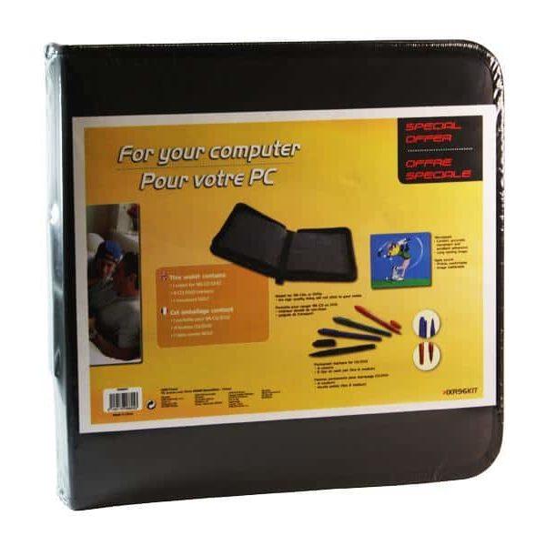 Etui EMTEC pour 96 CD/DVD avec tapis de souris + 4 marqueurs39269097