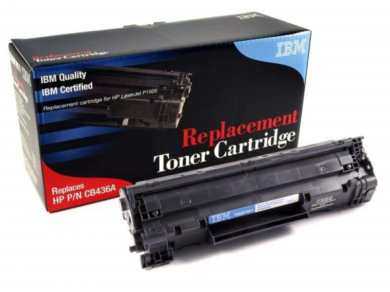 IBM HP CB436A Tonerpatrone schwarz 85P7011