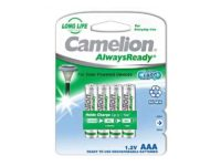 Pack de 4 piles rechargeables Camelion AlwaysReady Micro AAA 600mA85061011