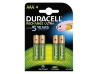 Pack de 4 piles rechargeables Duracell AAA Micro 850mAh | @1pactweb.fr