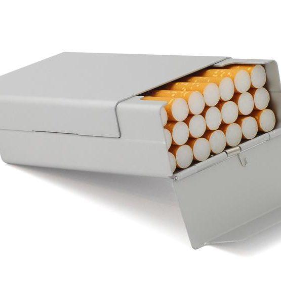 Etui pour cigarettes - Aluminium (Argenté)