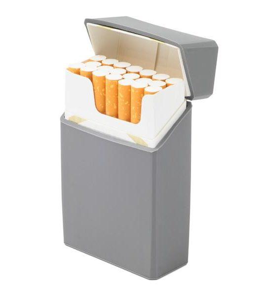 Etui pour cigarettes - En silicone (Gris)