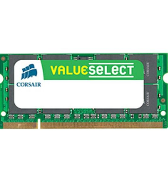 Barette mémoire Corsair ValueSelect SO-DDR3 1066MHz 2Go CM3X2GSD1066